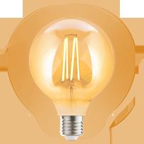 Edison Light Bulb Globe